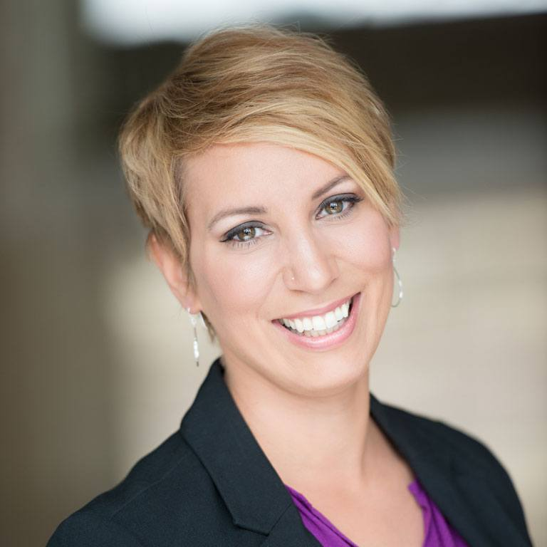 Amanda Ziebell Mawanda, Propel Nonprofits' Strategic Services Consultant headshot.