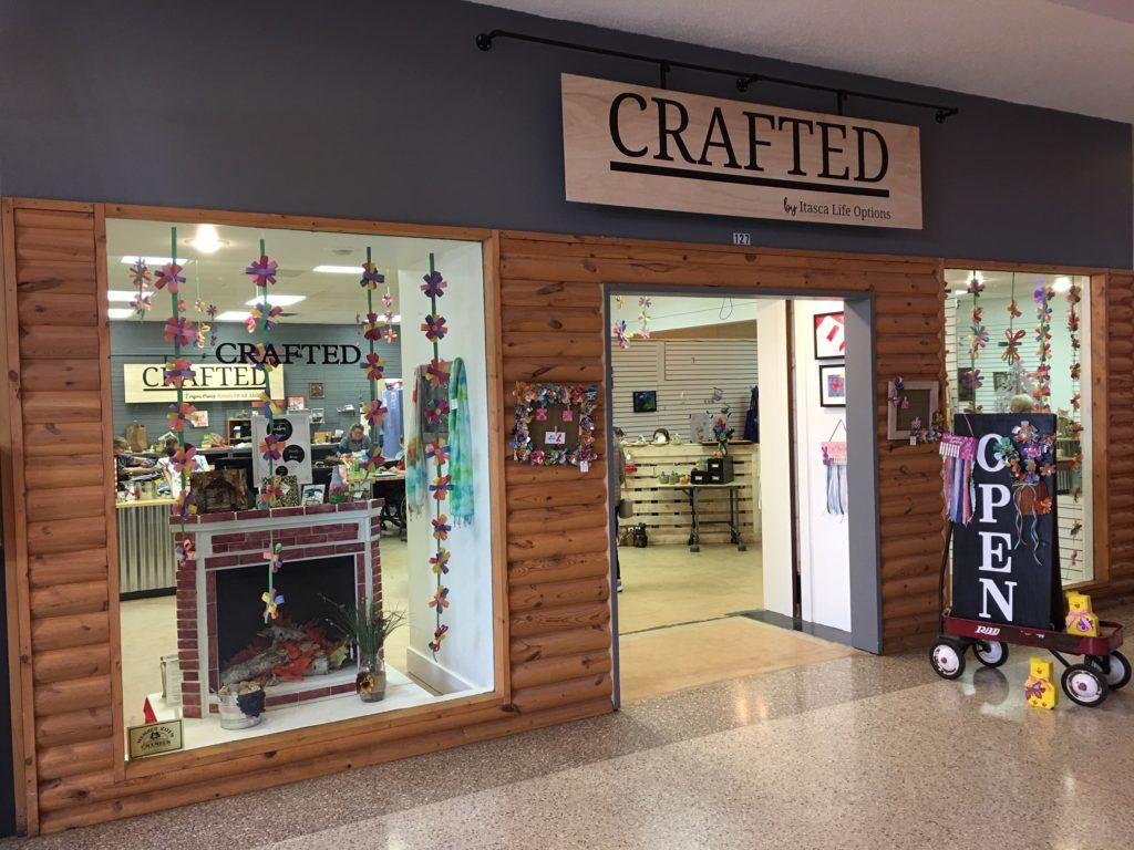 Itasca Life Options Crafted storefront