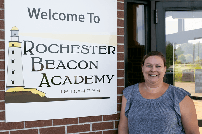 Nicole Musolf at Rochester Beacon Academy