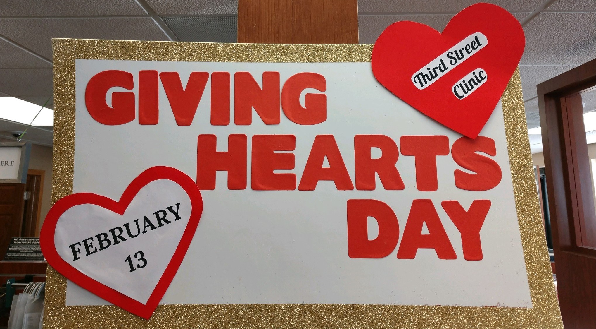 Poster of Giving Hearts Day