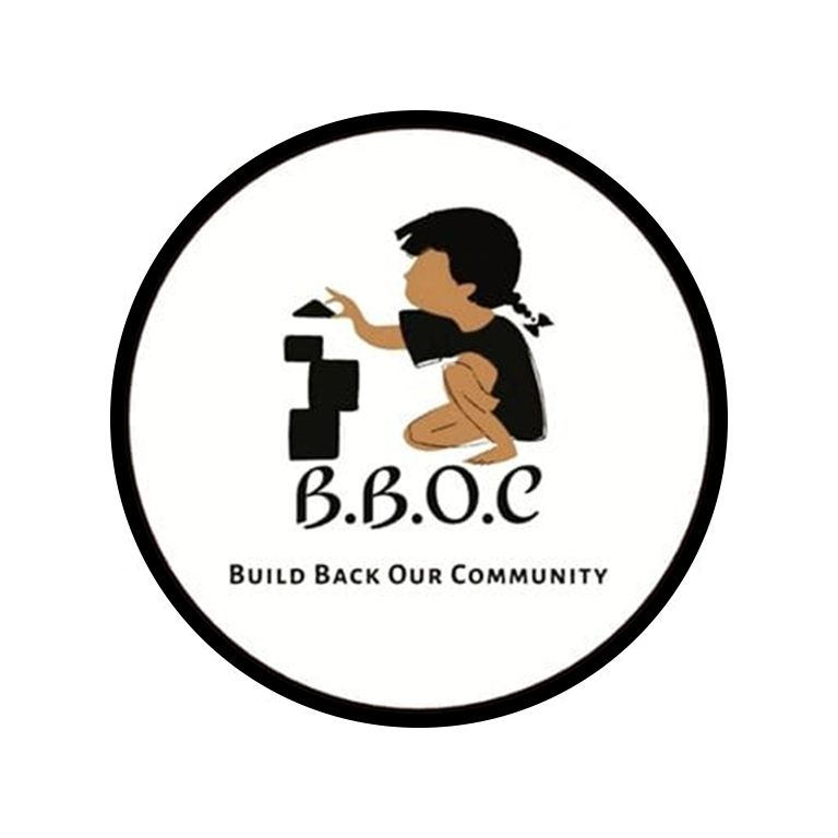 Build Back Our Community logo
